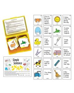 Snap Cards Simple Sentence Snap