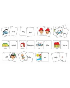 Snap Cards Basic Sight Word Snap