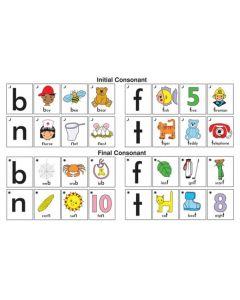 Snap Cards Consonant Snap