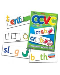 CCVC Magnetic Word Strips