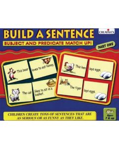 Build A Sentence Part One