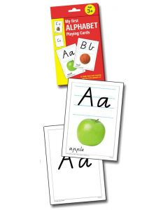 Alphabet Playing Cards Victoria