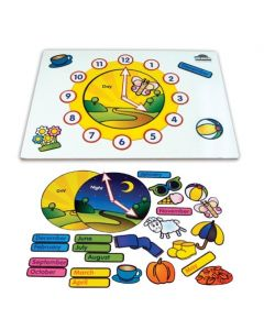 Magnetic Activity Board Seasons and Time