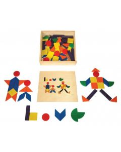 Pattern Blocks in Box