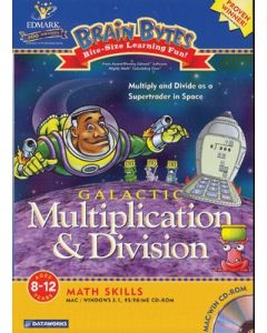 CD Rom Galactic Multiplication & Division