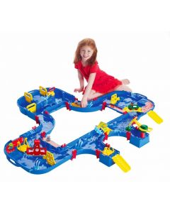 Aquaplay Megalock Waterway Set 62pcs