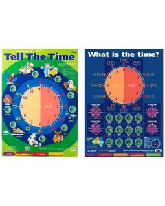 Tell the Time Double Sided Poster