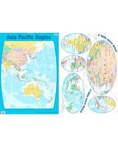 Asia Pacific Region Double Sided Poster