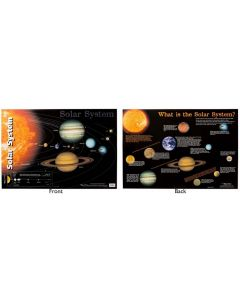 The Solar System Double Sided Poster