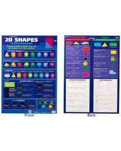 2D Shapes Double Sided Poster