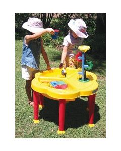 Sand and Water Activity Play Table with Lid