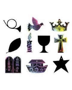 Scratch Art RE Symbols 30pcs