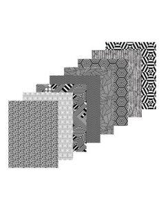 Contrast Pattern Paper 40pcs