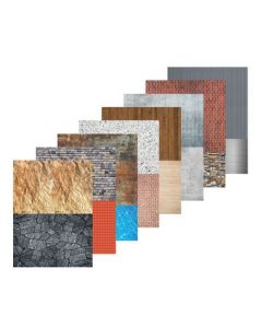 Building Pattern Paper 40pcs