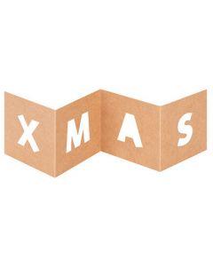 XMAS Cut Out Cards 10pcs