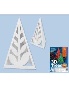 3D Cardboard Trees 30pcs