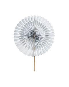 Paper Fans Round 20cm x 30pcs