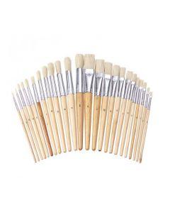 Value Paint Brush Assortment 24pcs
