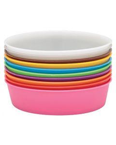 Plastic Painting Bowls 10pcs