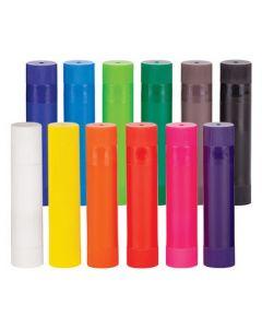 Colour Paint Slicks 12pcs