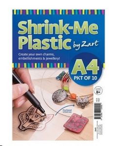 Shrink-Me Plastic A4 10pcs