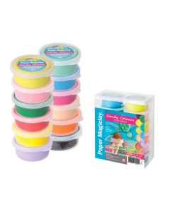 Paper Magiclay Candy Colours 12pcs