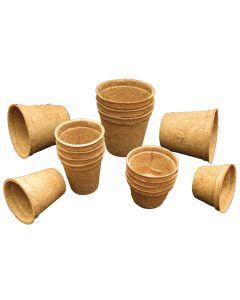 Natural Sisal Pot Assortment 15pcs