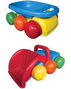 6 Wheel Dumper And 6 Wheel Loader Set