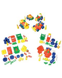 Construct-a-Vehicle Set of 12