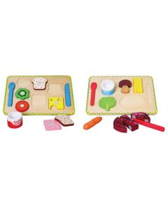 Lunch and Dinner Playtrays 25pcs