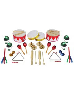 Metronomic Percussion Collection 34pcs