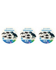 Scratch Art Dinosaurs 72pcs
