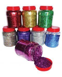 Glitter Bulk 8 X 1kg Tubs