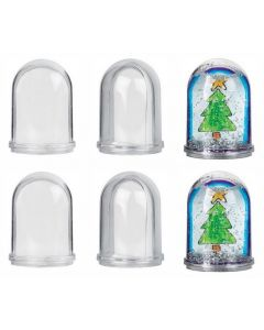 Snow Domes Set 6pcs