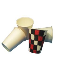 Cardboard Cups Uncoated 50pcs