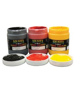 Aquatex Fabric Paint 3x500ml The Aborigines, The Sun and The Earth