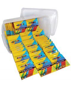 Crayons Standard In Tub 684pcs