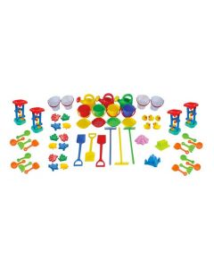 Large Sand & Water Playset 61pcs