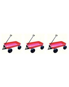 Large Mighty Metal Wagons Set of 3
