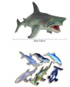 Super Size Ocean Animals 6pcs
