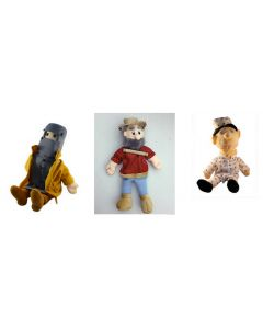 Colonial Body Puppets Set of 3
