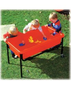 Sand & Water Playtray, Frame & Lid Red 58cmH