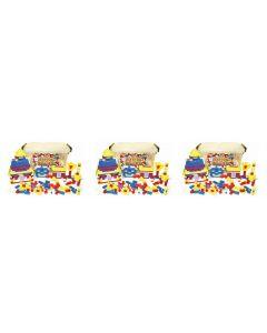 3 Sets of Tatco Mini Blocks 3600pcs
