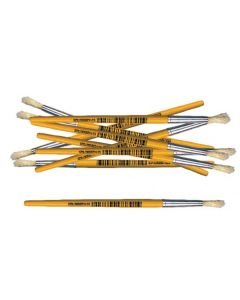 Paint Brushes Mini Stubby Round 12pcs