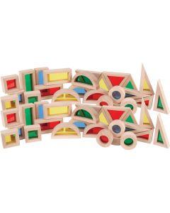 Light and Colour Blocks 48pcs