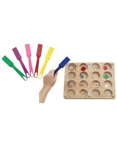 Magnetic Discovery Board and Six Magnetic Wands