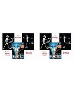 TWO Human Body X-Ray Kits