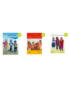 Let's Learn About Safety, Children of the World and Feelings and Emotions Big Books Set