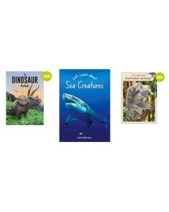 The Dinosaur, Let's Learn About Sea Creatures and Let's Learn About Australian Animals Big Books Set