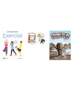 Let's Learn About Exercise, When I Grow Up - Occupations and Things To Do Before You Grow Up Big Books Set